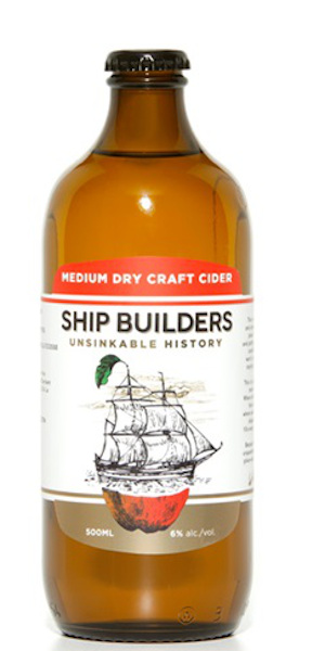 A product image for Shipbuilders Medium Dry Cider