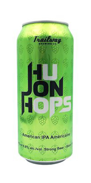 A product image for Trailway HuJon Hops IPA