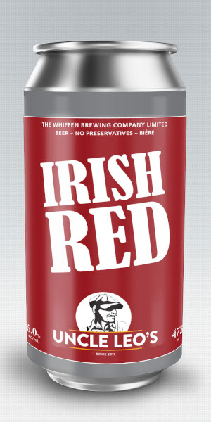 A product image for Uncle Leo's Red Ale