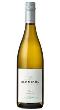 A product image for Blomidon Unoaked Chardonnay