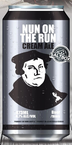 A product image for Saltbox Brewing Cream Ale