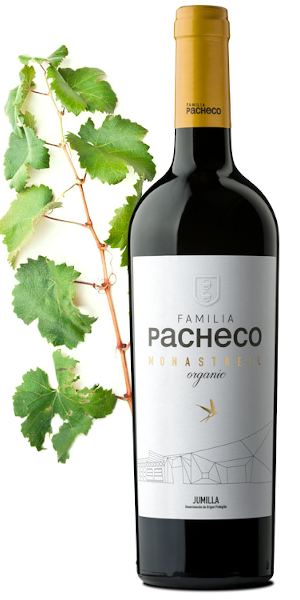 A product image for Pacheco Monastrell Organic Red