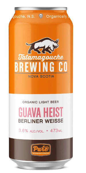 A product image for Tata Guava Heist Berliner Weisse