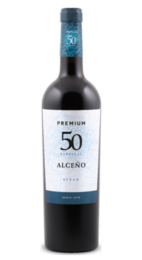 A product image for Alceno Premium 50 Barricas Syrah