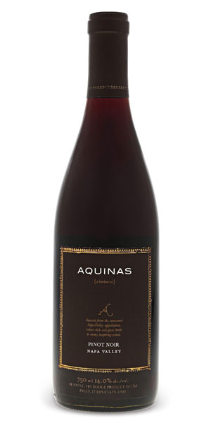 A product image for Aquinas Pinot Noir