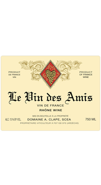 A product image for Auguste Clape Vin des Amis Rouge