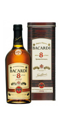 A product image for Bacardi 8 Year Old