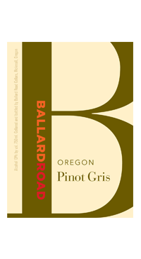 A product image for Ballard Road Pinot Gris