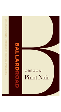 A product image for Ballard Road Pinot Noir