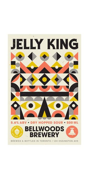 A product image for Bellwoods Jelly King – Dry Hopped Sour