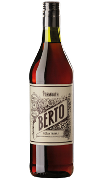 A product image for Berto Rosso Vermouth