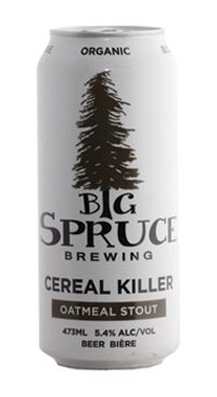 A product image for Big Spruce Cereal Killer Oatmeal Stout