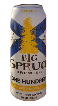 A product image for Big Spruce One Hundred Cape Breton Wild Ale