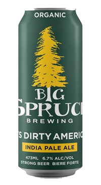 A product image for Big Spruce Tim's Dirty IPA