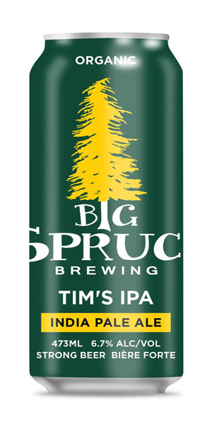 A product image for Big Spruce Tim's IPA