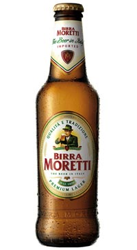 A product image for Moretti Lager