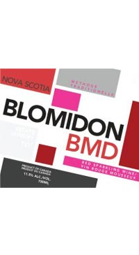 A product image for Blomidon BMD Sparkling Red