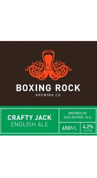 A product image for Boxing Rock Crafty Jack English Ale
