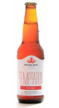A product image for Boxing Rock Temptation Red Ale