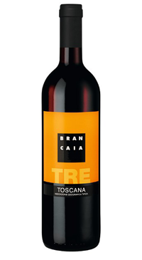 A product image for Brancaia Tre Rosso