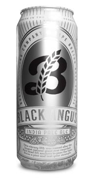 A product image for Breton Brewing Black Angus IPA