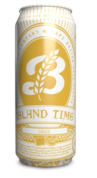 A product image for Breton Brewing Island Time Lager