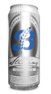 A product image for Breton Brewing Stirling Hefeweizen