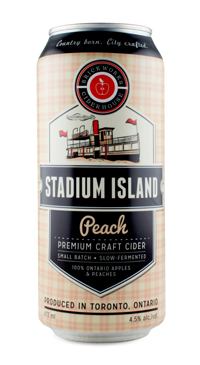 A product image for Brickworks Stadium Island Peach Cider