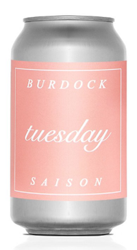A product image for Burdock Tuesday 355ml Can
