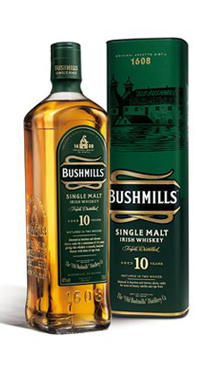 A product image for Bushmills Malt Irish Whiskey