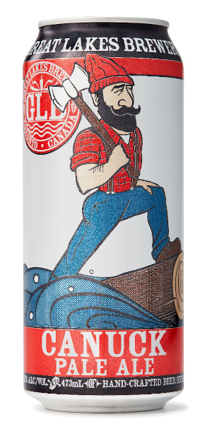 A product image for Great Lakes Canuck Pale Ale