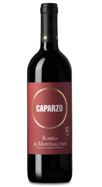 A product image for Caparzo Rosso di Montalcino 375ml