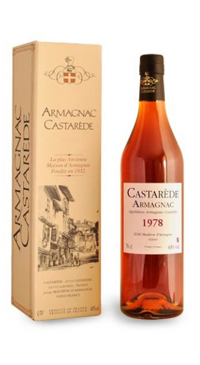 A product image for Armagnac Castarede 1978