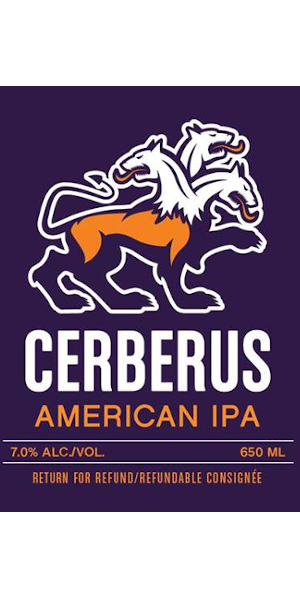 A product image for Big Spruce X Tatamagouche X North – Cerberus IPA