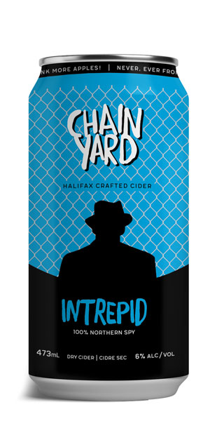 A product image for Chain Yard Intrepid Cider
