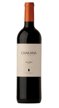 A product image for Chakana Malbec