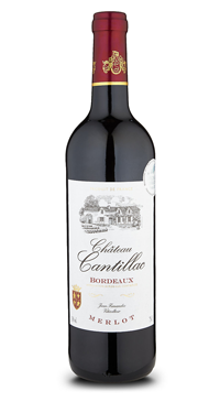 A product image for Chateau Cantillac Cuvee Prestige Merlot