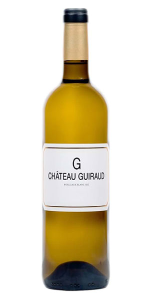 A product image for Chateau Guiraud Blanc Sec