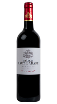 A product image for Chateau Haut Barade Petit Verdot