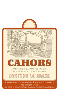 A product image for Chateau La Grave Cahors 375ml