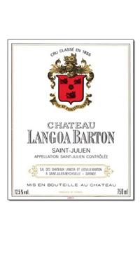 A product image for Chateau Langoa Barton