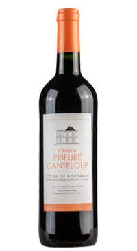 A product image for Chateau Prieure Canteloup Cote de Bordeaux