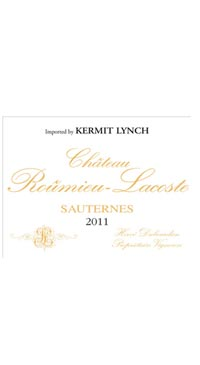 A product image for Chateau Roumieu-Lacoste Sauternes 375ml