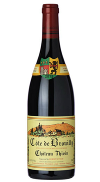 A product image for Chateau Thivin Cote de Brouilly