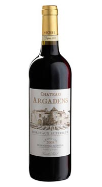 A product image for Chateau Argadens Rouge
