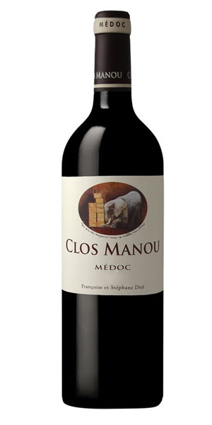 A product image for Clos Manou Medoc