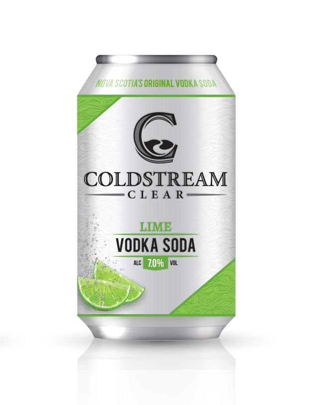 A product image for Coldstream Clear Lime Vodka Soda 6pk