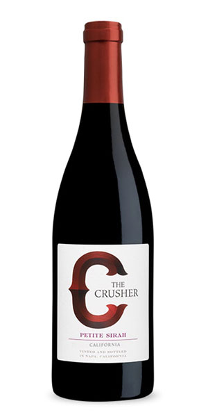 A product image for The Crusher Petite Sirah
