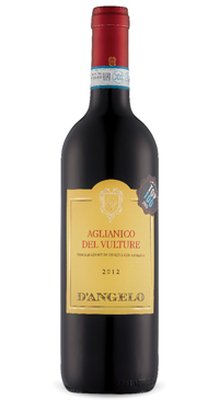 A product image for D'Angelo Aglianico del Vulture