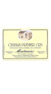 A product image for Dauvissat Chablis Chablis 1er Cru Montmains